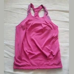 Ivviva Pink Fushia Pink Tank Top Size 7